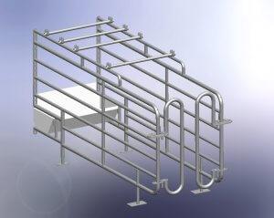 Saloon box laag model