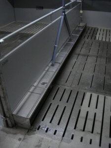 betonnen roostervloeren